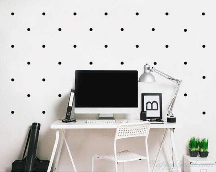 Charmant Polka Dots Wall Decal
