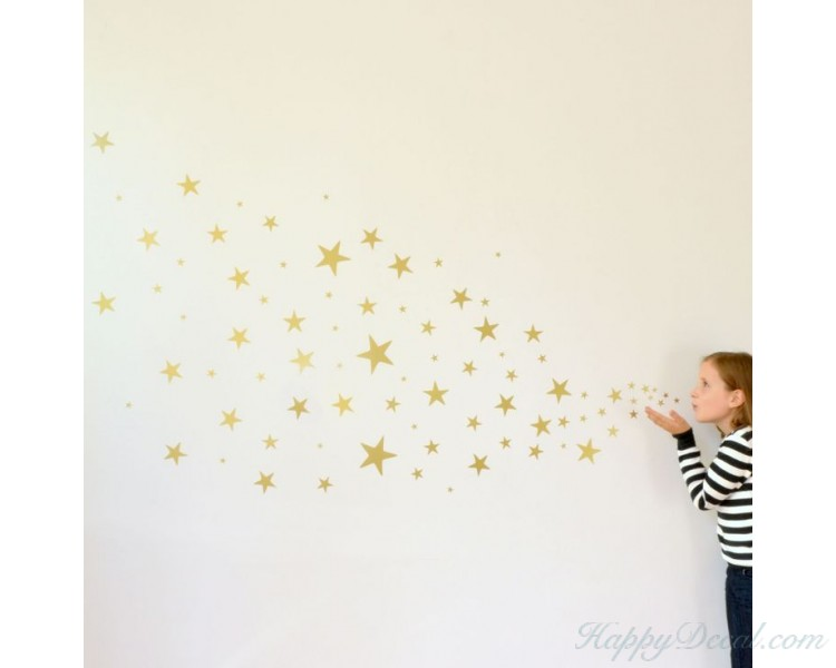 Perfect Set Of Stars Wall Pattern