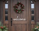 Welcome Quote Wall Stickers Home Lettering Quote Wall Decal