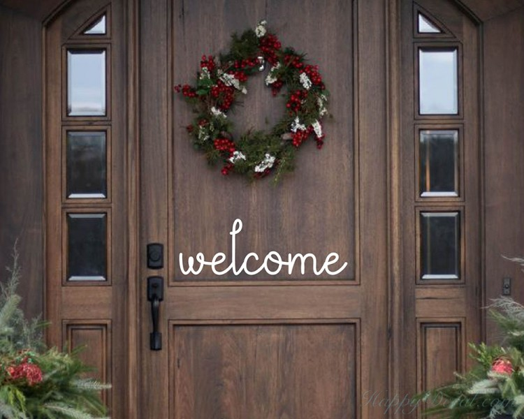 Welcome Quote Wall Sticker