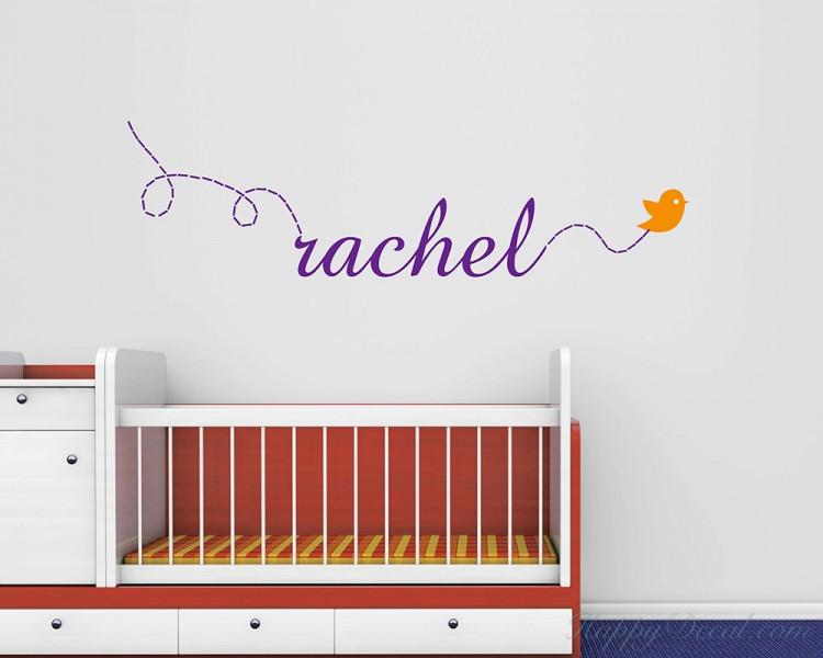 Baby Nursery Name Wall Decal