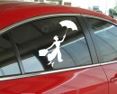 Mary Poppins Wall Decal Car Sticker Modern Vinyl Wall Decals
