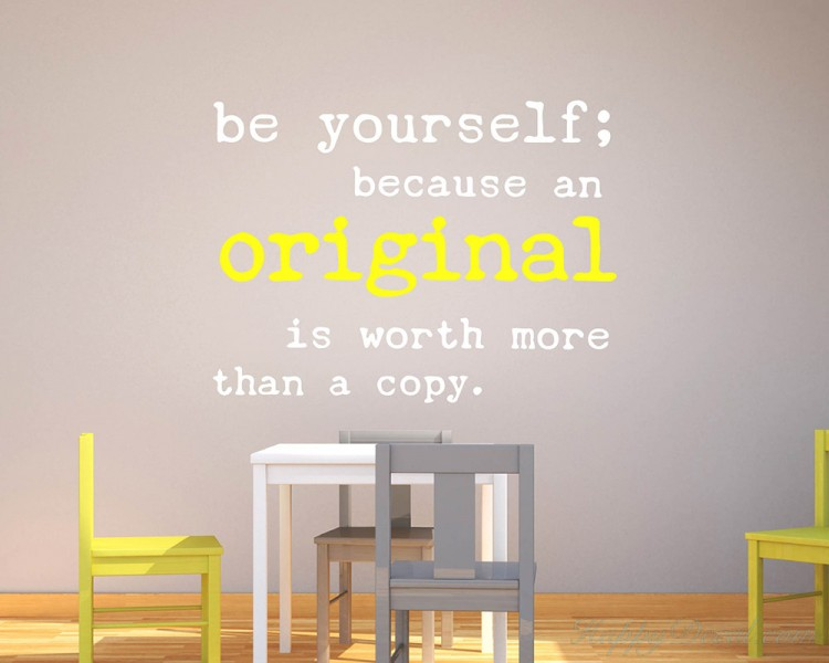 Quotes - Be Yourself Motivational Quote