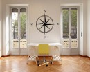 Compass Vinyl Wall Decals Modern Compass Wall Sticker