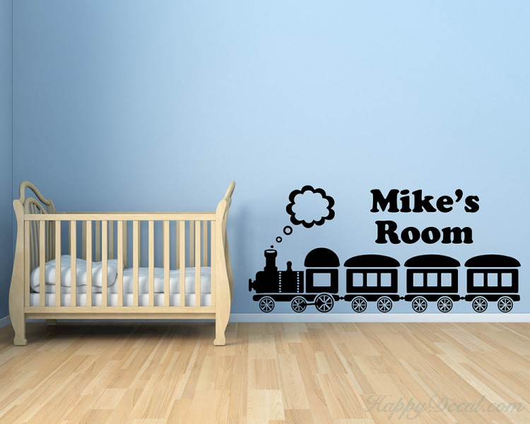 Train Customized Children Name