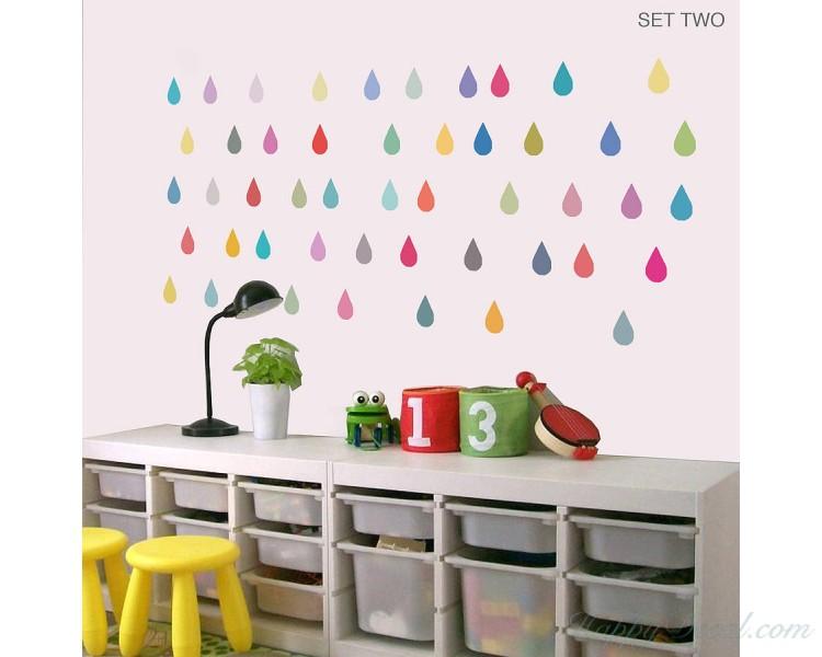 Colourful Raindrop