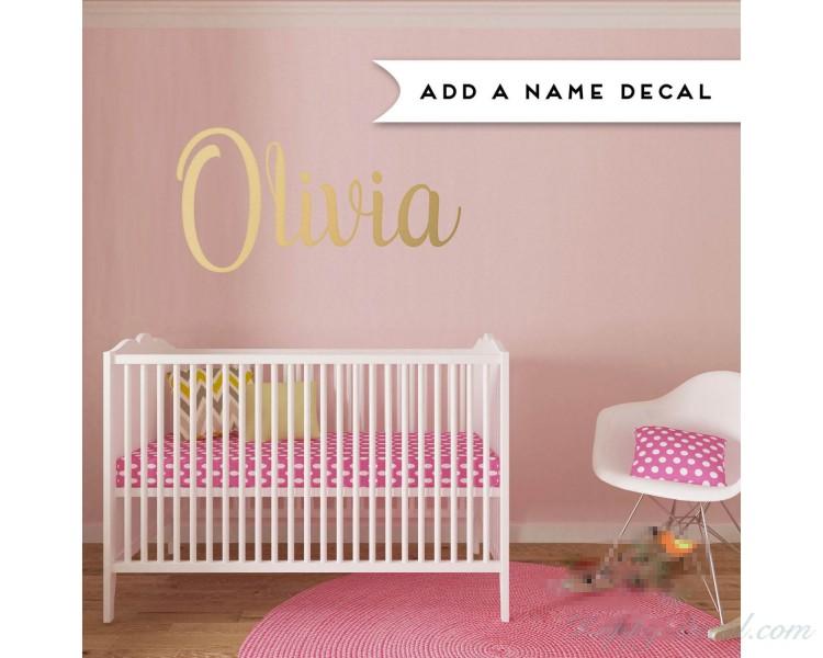 Customized Name Vinyl Decals Nursery