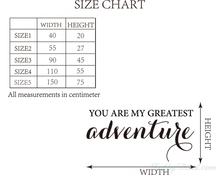 You Are My Greatest Adventure Love Wall Quotes