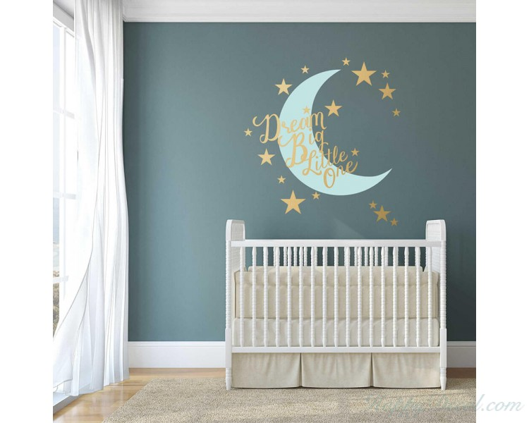 Dream Big Little One - Nursery Wall Decal