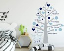 Fruit of the Spirit Tree Decal for Nursery Room