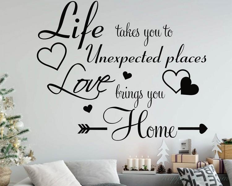FAMILY LIFE LOVE Wall Art Decal Home Decor