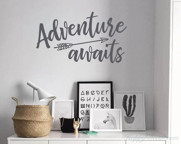 Adventure Awaits Arrow