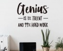 Genius Motivational Quote
