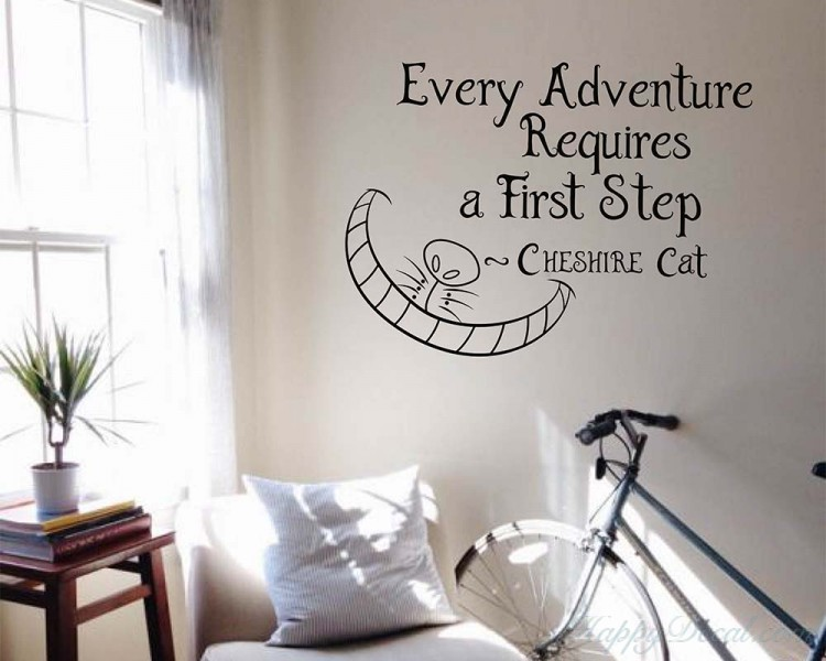 Every Adventure Requires a First Step Quote Decal