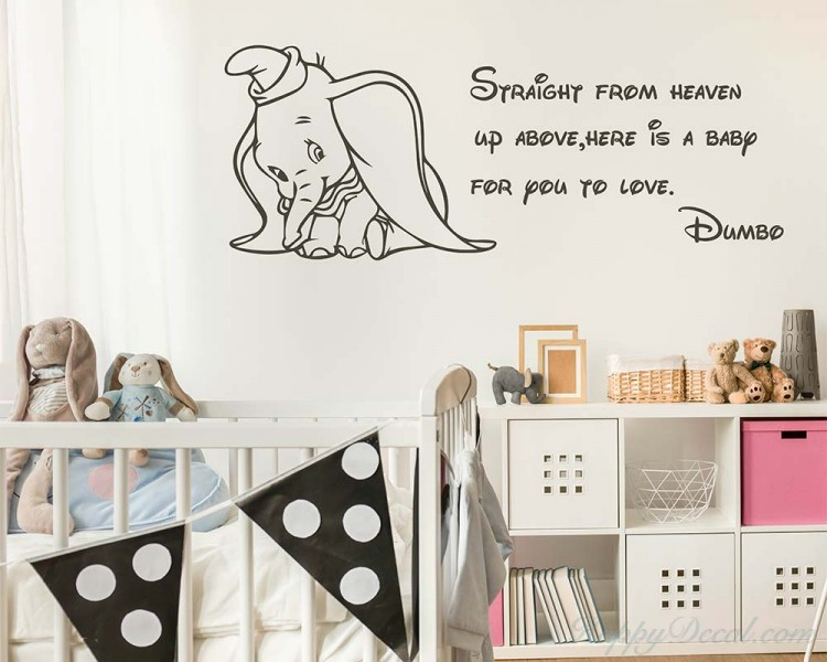 Dumbo Quote Wall Decal