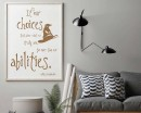 Harry Potter inspired Wall Decal Quote