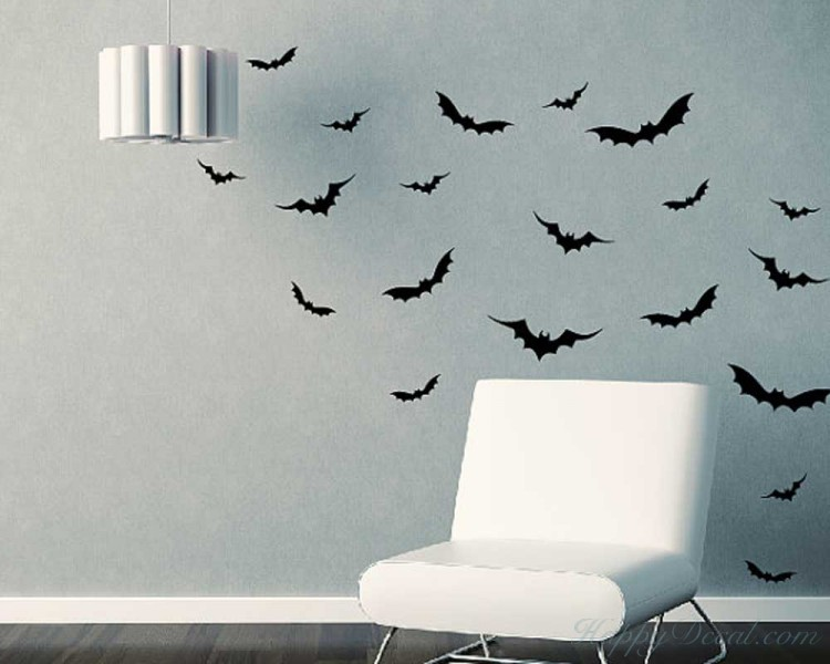 Little Bats Wall Decal Animal Stickers For Nursery