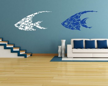 Fishes Wall Decal Animal Stickers For Kids