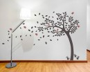 Tree Decal with Customized Name Vinyl Art Decal