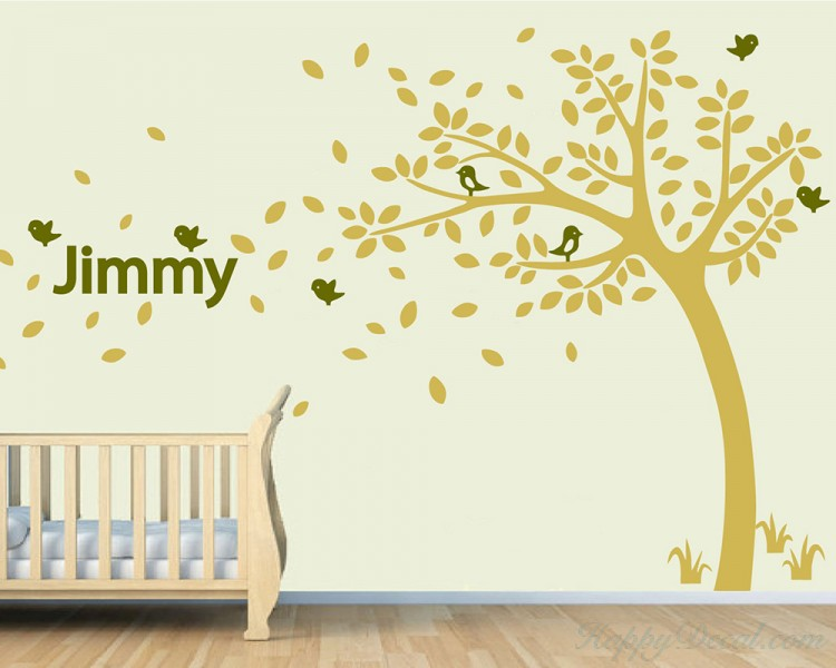 Customized Name Tree Decal