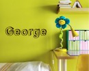 Customized Name Vinyl Decals Nursery Name Sticker