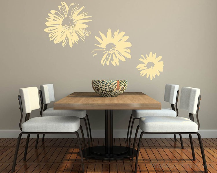 Chrysanthemum Flower Decal