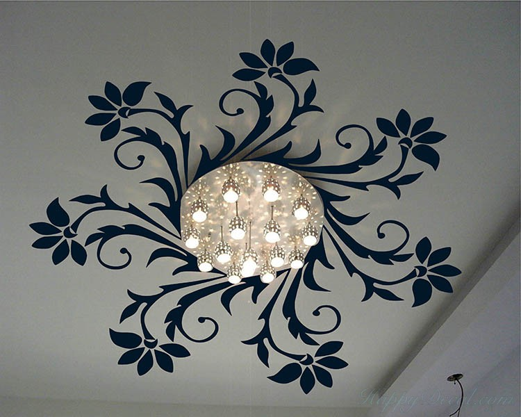 Overhead Light Decal