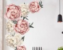 Peony Removable Sticker-Living Room Decor