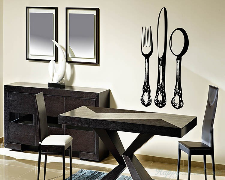Kitchen Wares: Knife And Fork