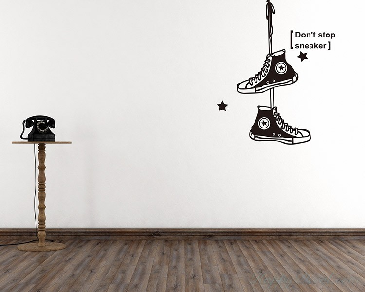 Sneakers Nursery Decals