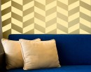 Chevron Seamless Pattern Decal Vinyl Modern Decals