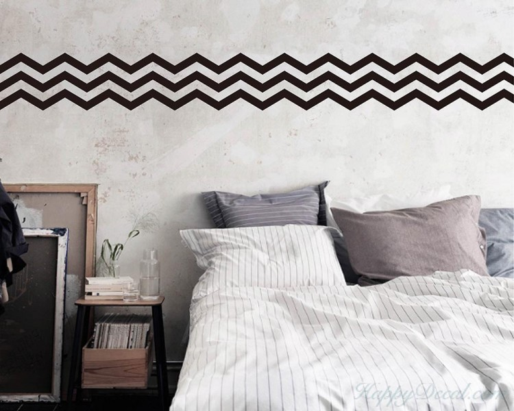 3 Chevron Stripes Wall Decal