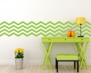 4 Chevron Stripes Wall Pattern Decal Modern Vinyl Art Stickers