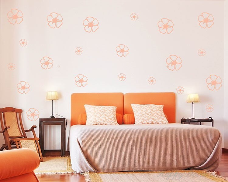 Lovely Flowers Pattern Decal