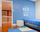 A Good Health Quotes Wall Decal Motivational Vinyl Art Stickers