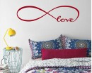 Infinity Love Quotes Wall Decal Quotes Vinyl Art Stickers