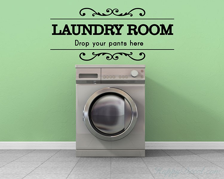 Laundry Room Quotes Room Quotes Wall Decal Family Quotes Vinyl Art Stickers
