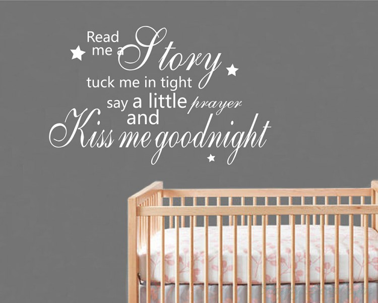 Read Me A Story Quotes Wall Decal Love Vinyl Art Stickers