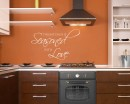 Kitchen Wall Quotes Wall Decal Kitchen Vinyl Art Stickers