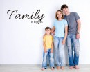 Family is Forever Quotes Wall Decal Lettering Vinyl Art Stickers