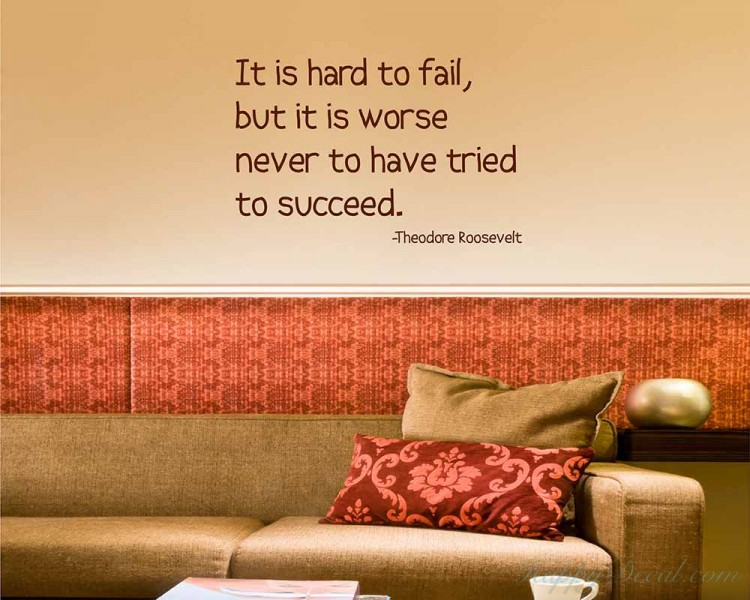 It is Hard Quotes Wall Decal