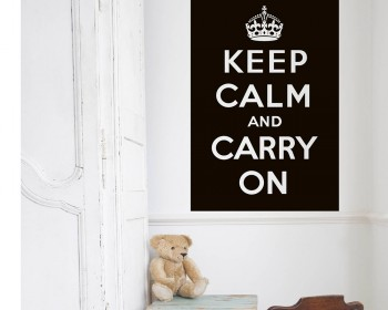 Keep Calm And Sleep More Wall Stickers Vinyl Art Decals