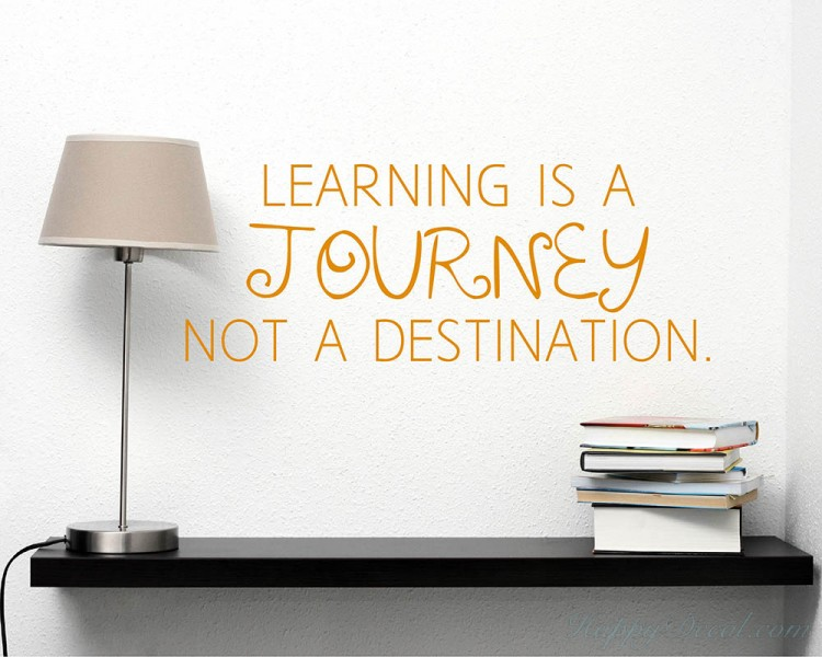 Image result for learning is about the journey not the destination