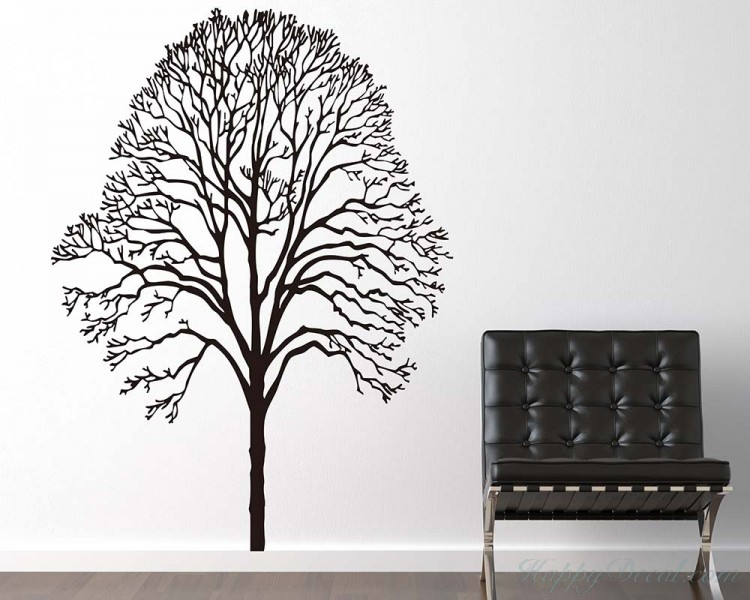 Modern Tree Wall Decal