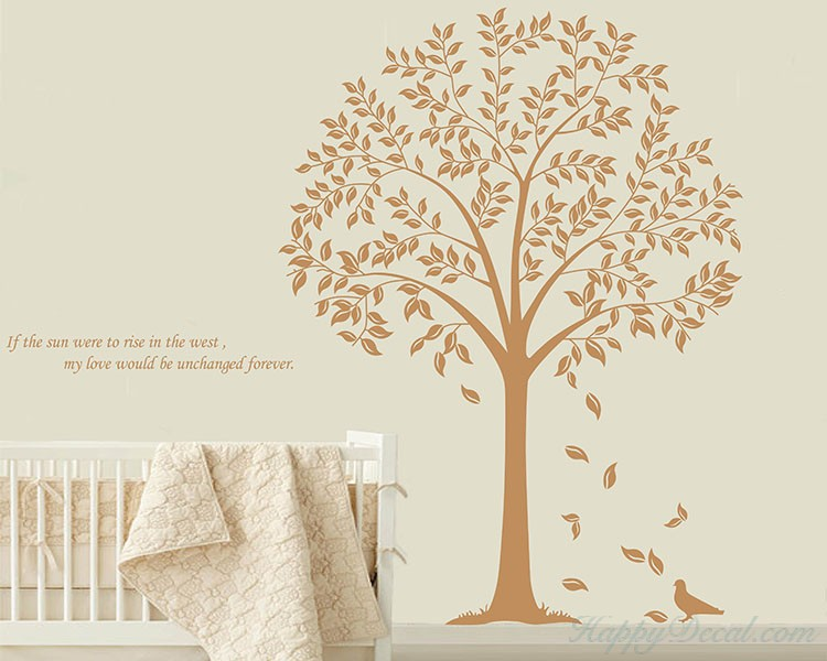 Lovely Linden Tree Quotes Wall Decal