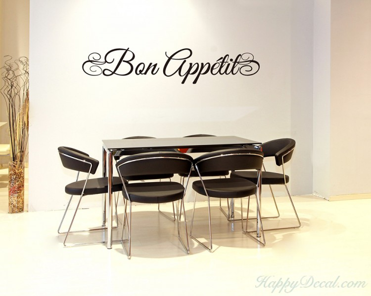 Brown Bon Appetite Blue Room