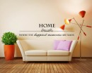 Home Quotes Wall Decal Family Vinyl Art Stickers