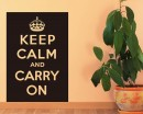 Keep Calm Quotes Wall Decal Motivational Vinyl Art Stickers