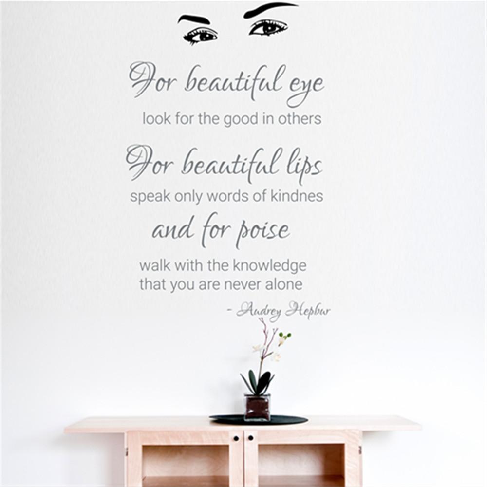 For Beautiful Eyes Audrey Hepburn