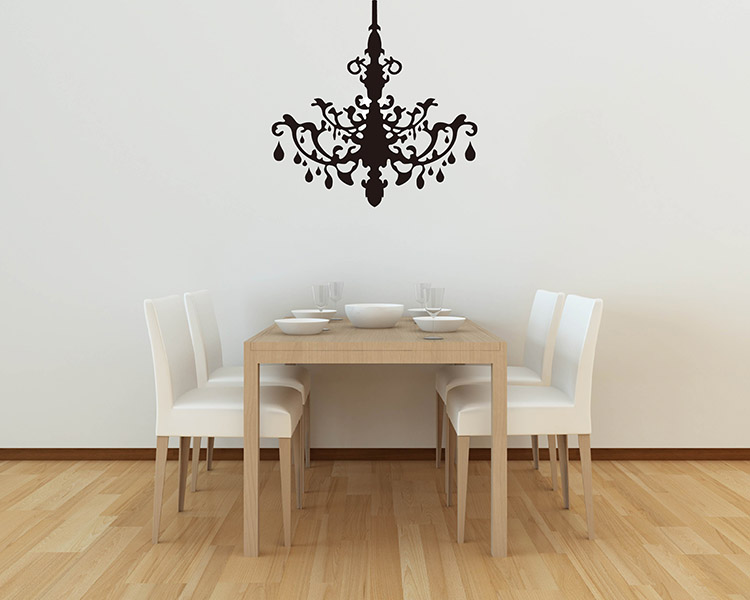 sc 1 st  Wall Decals Premium Vinyl Wall Art Stickers for Home u0026 Business & Chandelier Wall Decals - Vinyl Wall Art Stickers